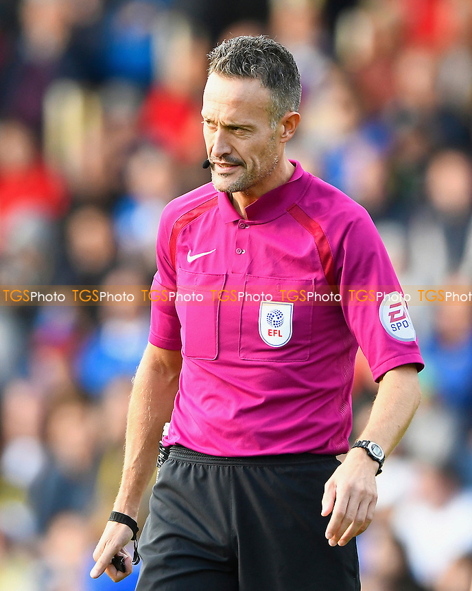 Referee Darren Deadman during Portsmouth vs Doncaster Rovers, Sky Bet EFL League 2 Football at Fratton Park on 1st October 2016