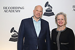 John Roppo and Ruby Marchand attends the 61st Annual Grammy Nominee Celebration at Second on January 28, 2019 in New York City.