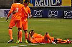 El Envigado sorprendió al Deportivo Cali, lo venció dos goles por cero este sábado por la noche en el estadio de Palmaseca, resultado con el que se encarama en el podio de la Liga con 24 unidades.