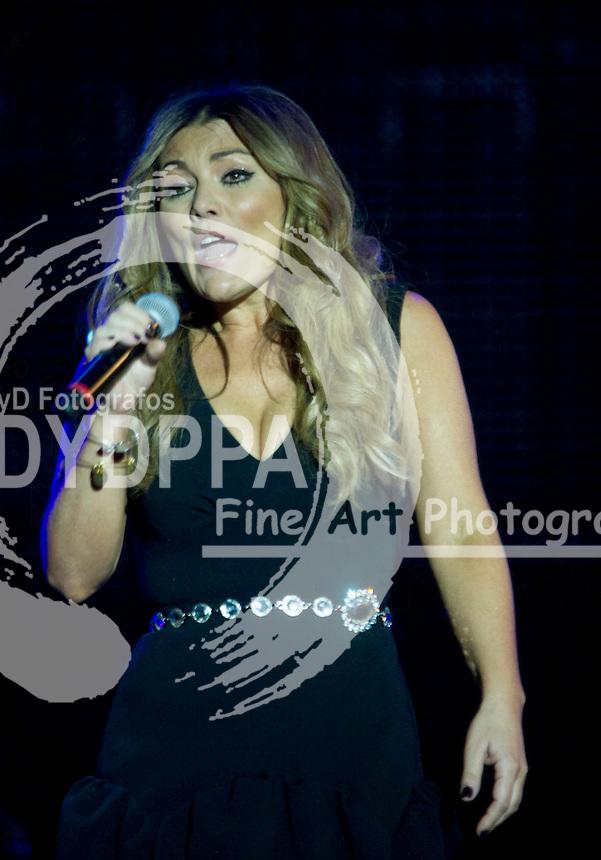05/07/2012. Arganda del Rey. Madrid. Spain. Rock in Rio Madrid 2012.  Amaia Montero in concert. (C) Bjorn S. Johnson / DyD Fotografos