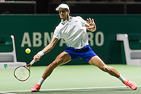 ABN AMRO World Tennis Tournament, Rotterdam, The Netherlands, 13 februari, 2017, Pierre Hugues Herbert (FRA)<br /> Photo: Henk Koster
