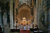 nave,iconostasis,St. Savva,Milesheva  Monastery of Ascension of the Lord , 1234-1235