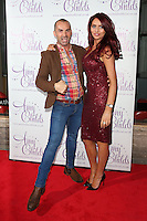 Amy Childs and Louie Spence arriving for the Amy Childs clothing collection  3rd birthday party, London. 27/10/2014 Picture by: James Smith / Featureflash