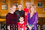 Man U<br /> ---------<br /> pictured at the meet&amp;greet the former Manchester United stars in McHales bar last Saturday afternoon were L-R Petrina Comerford,Marcus Connolly,Jamie&amp;Helen Lyons with young Ruairi fry