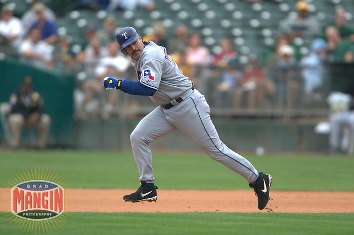 Rafael Palmeiro. Baseball: Texas Rangers vs Oakland Athletics. Oakland, CA 9/24/2003 MANDATORY CREDIT: Brad Mangin