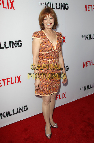 14 July 2014 - Hollywood, California - Frances Fisher. Premiere Of Netflix's &quot;The Killing&quot; Season 4 Held at The ArcLight Cinemas. <br /> CAP/ADM/FS<br /> &copy;Faye Sadou/AdMedia/Capital Pictures