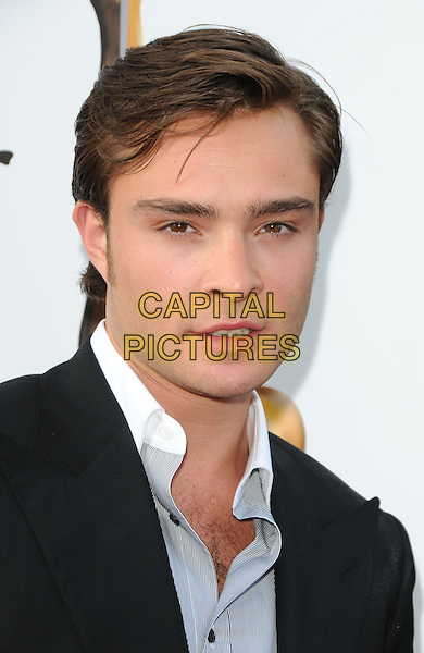 ED WESTWICK.The Hollywood Life 11th Annual Young Hollywood Awards held at The Eli & Edythe Broad Stage in Santa Monica, California, USA..June 7th, 2009  .headshot portrait black white grey gray                                                  .CAP/DVS.©Debbie VanStory/Capital Pictures.