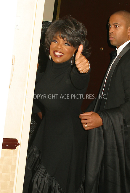 Oprah Winfrey attending the Broadcasting & Cable Magazine's Hall of Fame at Marriott Marquis. Oprah is one of this year's inductees. New York, November 11, 2002. Please byline: Alecsey Boldeskul/NY Photo Press.   ..*PAY-PER-USE*      ....NY Photo Press:  ..phone (646) 267-6913;   ..e-mail: info@nyphotopress.com