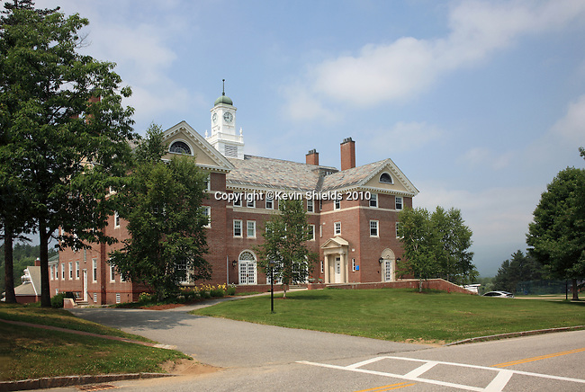 Gould Academy in Bethel, Maine, USA