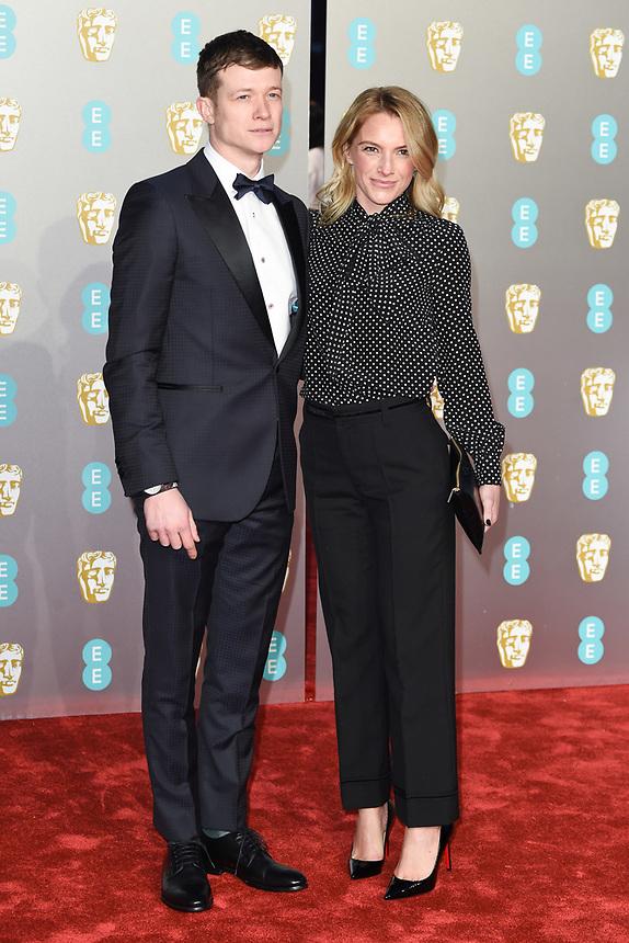 Ed Speelers<br /> arriving for the BAFTA Film Awards 2019 at the Royal Albert Hall, London<br /> <br /> ©Ash Knotek  D3478  10/02/2019