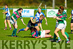 Action from the Women's Munster League Division 1 game, Tralee v Richmond in O'Dowd Park, Tralee on Sunday.