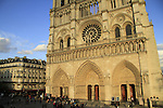 Notre Dame de Paris Cathedral, the mother church of the residents of Paris