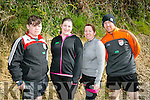 Murty Moriarty, Michelle Foley, Breda Moriarty and Eamon Leahy. at the BWildered Challenge in Ballymacelligott on Saturday