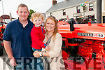 Kilflynn Rally : Pictured at the Kilflynn Tractor rally on Saturday evening last were  Noel , Harry & Ciara Healy from Listellig, Tralee.