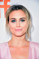 Taylor Schilling at the premiere of 'The Public' during the 2018 Toronto International Film Festival held on September 9, 2018 in Toronto, Canada. <br /> CAP/KNM<br /> &copy;IkonMediia/Capital Pictures