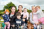 Family day out<br /> --------------------<br /> L-R Demi, Jade&amp;Mason Burke, Helena Barrett, Calli O'Shea with Caroline&amp;Sadhbh Walsh enjoying the fun at the races.