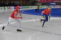 SCHAATSEN: BERLIJN: Sportforum, 08-12-2013, Essent ISU World Cup, Team Russia, ©foto Martin de Jong