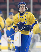 Nils Andersson (Sweden - 3) - Sweden's Under-20 team played its last game on this Massachusetts tour versus the University of Massachusetts-Amherst Minutemen at the Mullins Center in Amherst, Massachusetts.