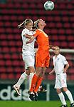 Kirsten van de Ven, Katie Chapman, SF, England-Holland, Women's EURO 2009 in Finland, 09062009, Tampere Ratina Stadium.