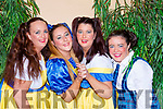 Jacqueline, Carmel, Rachel and Dainelle O'Connor ready to take the stage at the Killorglin Panto Pinocchio on Saturday