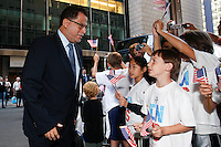 Members of the FIFA World Cup Inspection Delegation including Danny Jordaan arrive at the St. Regis Hotel in New York, NY, on September 06, 2010.