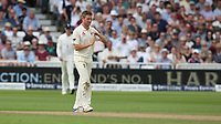 England's Liam Dawson calls for the tv review which confirms him taking the wicket of South Africa's Hashim Amla, lbw<br /> <br /> Photographer Stephen White/CameraSport<br /> <br /> Investec Test Series 2017 - Second Test - England v South Africa - Day 3 - Sunday 16th July 2017 - Trent Bridge - Nottingham<br /> <br /> World Copyright &copy; 2017 CameraSport. All rights reserved. 43 Linden Ave. Countesthorpe. Leicester. England. LE8 5PG - Tel: +44 (0) 116 277 4147 - admin@camerasport.com - www.camerasport.com