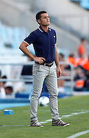 Almeria's coach Francisco during La Liga match.August 23,2013. (ALTERPHOTOS/Victor Blanco)