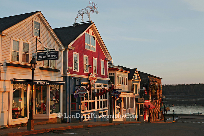 Main Street, Bar Harbor  #S25