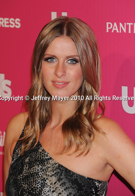 "HOLLYWOOD, CA. - November 18: Nicky Hilton arrives at US Weekly's Hot Hollywood ""Stars Who Care"" Event at The Colony on November 18, 2010 in Los Angeles, California."
