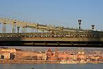 Jan 04, 2010 - Budapest, Hungary - Overlooking Buda from Pest. Credit Aristidis Vafeiadakis/ZUMA Press.