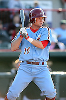 May 29th 2008:  Joey Hammond of the Reading Phillies, Class-AA affiliate of the Philadelphia Phillies, during a game at Jerry Uht Park in Erie, PA.  Photo by:  Mike Janes/Four Seam Images
