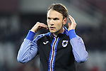 Albin Ekdal of Sampdoria during the Serie A match at Stadio Grande Torino, Turin. Picture date: 8th February 2020. Picture credit should read: Jonathan Moscrop/Sportimage