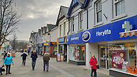 Boots store in Quay Street in Ammanford town centre, Carmarthershire, Wales, UK. Monday 10 December 2018