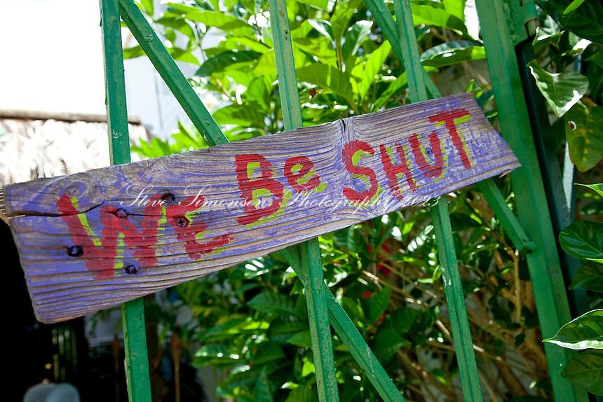 Signs<br /> Fredericksted, St Croix<br /> U.S. Virgin Islands