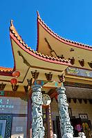 Thien Hau Temple, Taoist temple, Chinatown, Los Angeles, CA
