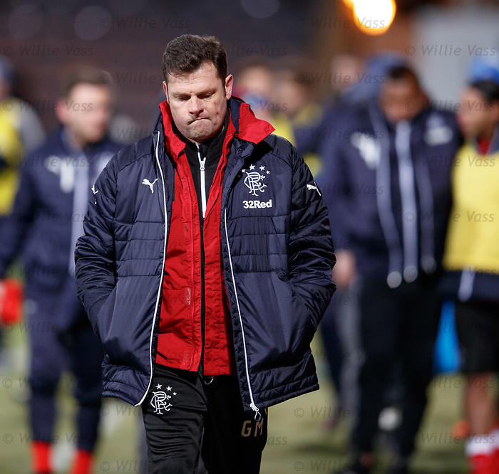 Graeme Murty at full time