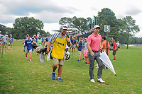 Paul Casey (GBR) approaches the 5th tee during Friday's round 2 of the PGA Championship at the Quail Hollow Club in Charlotte, North Carolina. 8/11/2017.<br /> Picture: Golffile | Ken Murray<br /> <br /> <br /> All photo usage must carry mandatory copyright credit (&copy; Golffile | Ken Murray)