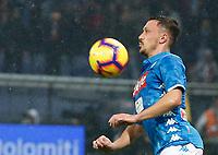 Mario Rui of Napoli  during  Genoa -   Napoli Stadio Luigi Ferraris, Genoa, Italy; Serie A football 10th November 2018