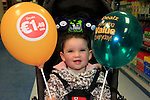 24/9/15 Bray Co Wicklow.<br /> Kya Kenny at the open of the new Dealz story in Bray Co Wicklow.<br /> Picture Fran Caffrey /Newsfile/Professional Images