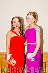 Listowel Community College, St Michael's College, Listowel and Presentation, Listowel, enjoying their Debs at the Brandon Hotel on Thursday night. Pictured l-r  Chantelle Murphy and Emily McCarthy.
