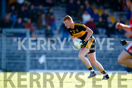 Johnny Buckley Dr Crokes in action against  West Kerry in the Kerry Senior Football Championship Semi Final at Fitzgerald Stadium on Saturday.