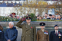 2018 11 11 Remembrance Day in Swansea, Wales, UK
