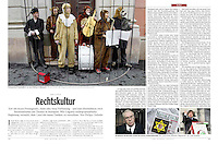 German weekly magazine DER SPIEGEL on Hungarian culture being shifted to the right, 12.2011.<br /> Pictures: Dániel Németh, Martin Fejér, Vörös Szilárd