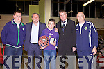 Awards night for Listowel Celtic Soccer Schoolboys/girls were held in St. Michaels College Listowel on Thursday night..John Hicky, Ray Houghton, Michael Mullins, Aidan O'Connor, Liam Kennedy.