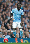 Bacary Sagna of Manchester City during the Barclays Premier League match at Old Trafford. Photo credit should read: Philip Oldham/Sportimage