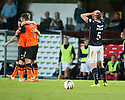 Dundee's James McPake  at the end of the game.
