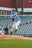 Brendan Martin (6) of Chisholm Trail High School in Fort Worth, Texas during the Under Armour All-American Pre-Season Tournament presented by Baseball Factory on January 15, 2017 at Sloan Park in Mesa, Arizona.  (Freek Bouw/MJP/Four Seam Images)