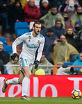 Gareth Bale of Real Madrid in action during the La Liga 2017-18 match between Real Madrid and Villarreal CF at Santiago Bernabeu Stadium on January 13 2018 in Madrid, Spain. Photo by Diego Gonzalez / Power Sport Images