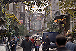 Fener District, residential neighborhood, street scene, Istanbul, Turkey,