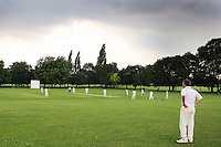 Storm clouds gather over the match - Harold Wood CC vs Shenfield CC - Essex Cricket League at Harold Wood Park - 27/06/09- MANDATORY CREDIT: Gavin Ellis/TGSPHOTO - Self billing applies where appropriate - 0845 094 6026 - contact@tgsphoto.co.uk - NO UNPAID USE.